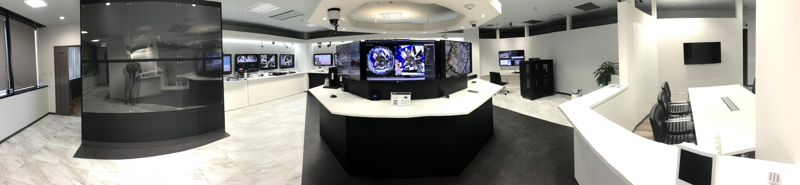 セキュリオン24のショールーム